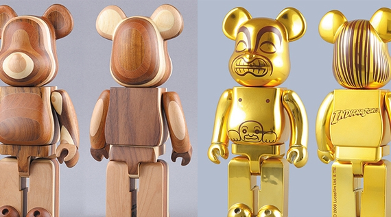 Be@rbrick Layered Wood & Golden Idol.jpg