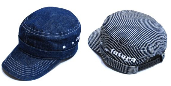 Futura Laboratories Zimbabwe Denim Crusher Work Cap.jpg