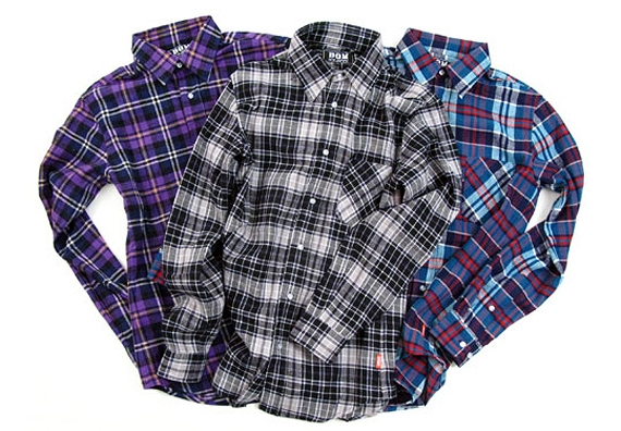 DQM Holiday 2008 Collection | Flannel Shirts.jpg