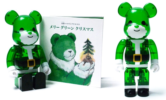 "Isetan x Medicom Toy ""Merry Green Christmas"" 400% Bearbrick.jpg"