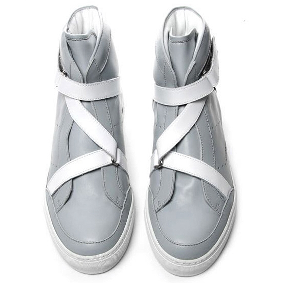 Kris Van Assche Ankle Leather Sneakers.jpg