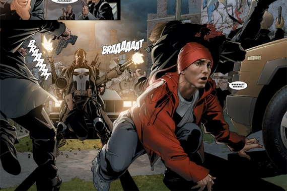 Marvel Comics Punisher : Eminem - Kill You.jpg
