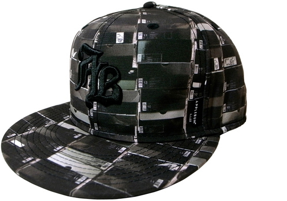 APPLEBUM Kicks Box All-Stars Fitted Baseball Cap.jpg
