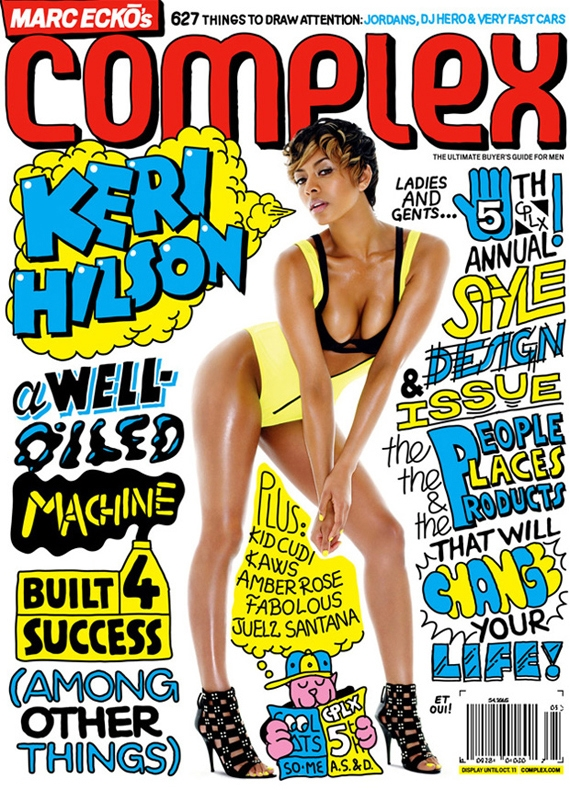 Complex Magazine 2009 August:September Cover featuring Keri Hilson.jpg