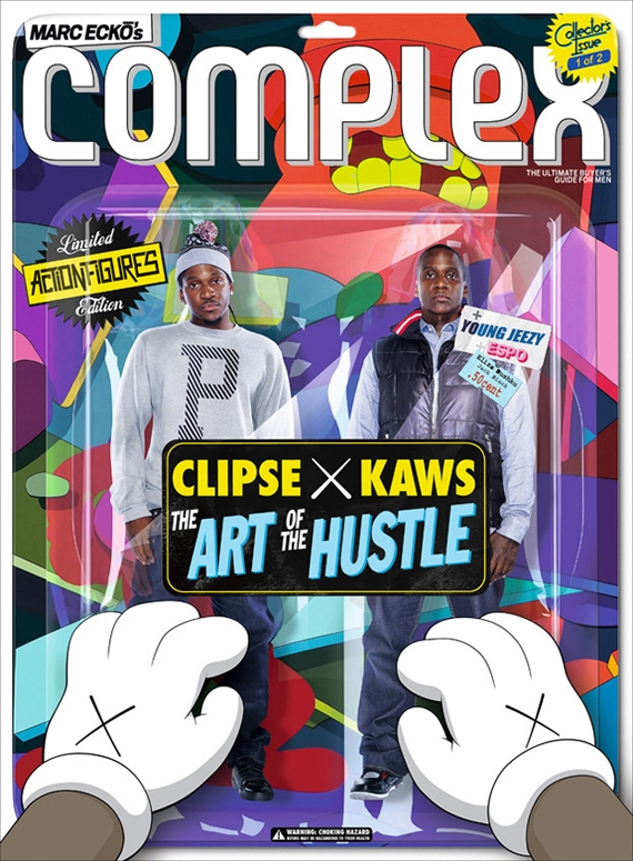 Complex Magazine Clipse x KAWS 2009 October:November Issue.jpg