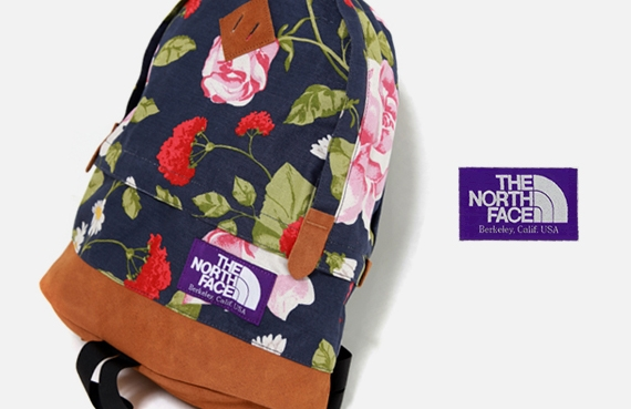 "The North Face Purple Label 2010 Spring ""Flower"" Backpack .jpg"