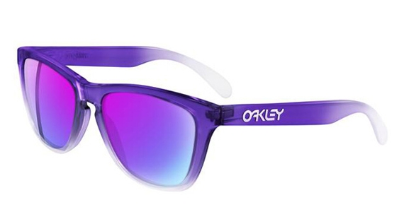 Oakley Purple:Clear Frogskins Sunglasses.jpg