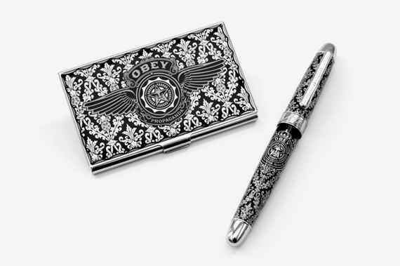 OBEY Limited Edition Card Case & Pen.jpg