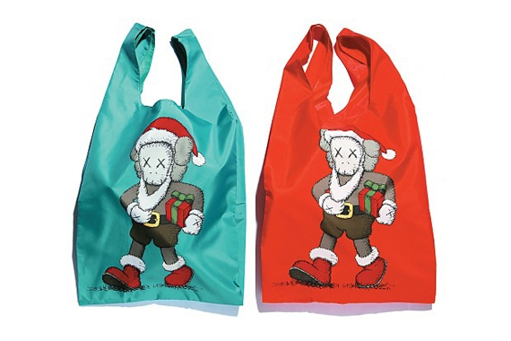 "KAWS x HARBOUR CITY x AllRightsReserved ""Santa Cross is Coming to City"" Tote Bag.jpg"